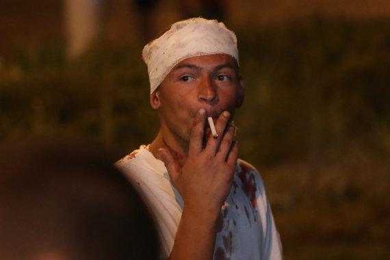 """""""Scanpix""""/ITAR-TASS nuotr./Baltarusijoje malšinami protestai"""