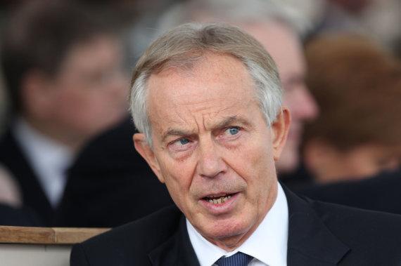 """Scanpix""/""PA Wire""/""Press Association Images"" nuotr./Tony Blairas"