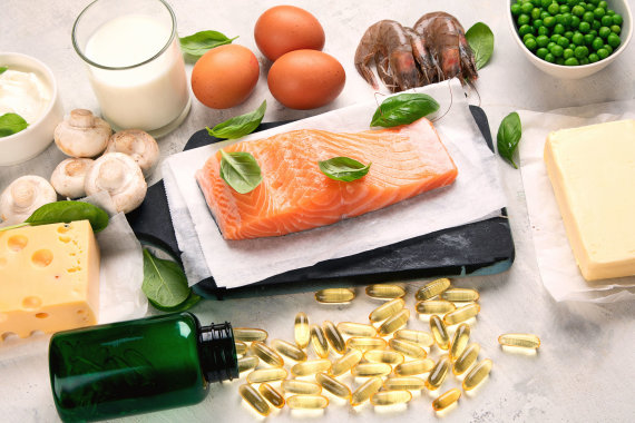 123RF.com nuotr./Vitamino D šaltiniai