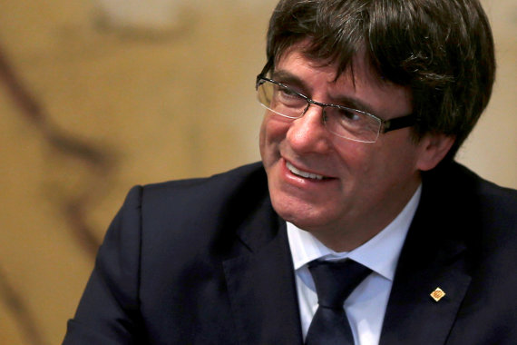 """Reuters""/""Scanpix"" nuotr./Carlesas Puigdemont'as"