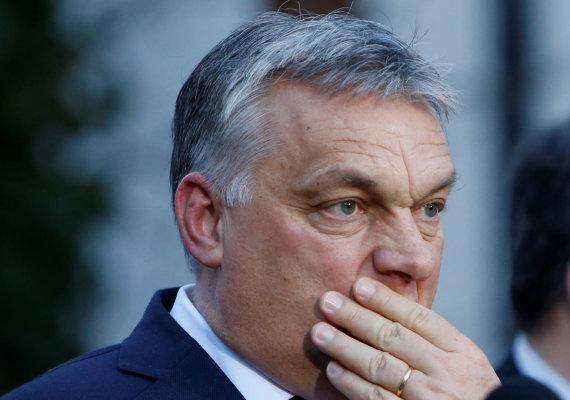 """Reuters""/""Scanpix"" nuotr./Viktoras Orbanas Vokietijoje"