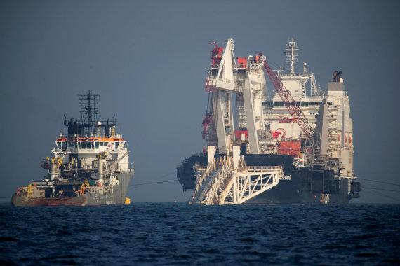 """""""Scanpix"""" nuotr./Tiesiamas dujotiekis """"Nord Stream 2"""""""