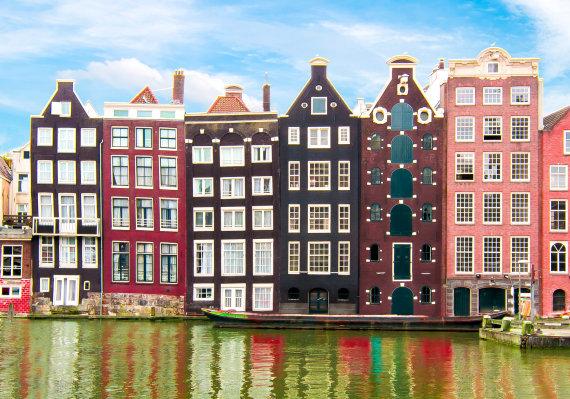 123rf.com nuotr./Amsterdamas, Nyderlandai