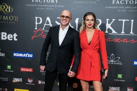 Juliaus Kalinsko / 15min nuotr./Ramūnas Rudokas su žmona Justina Žeimyte-Rudoke