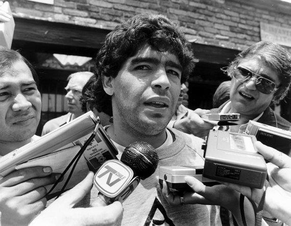 Vida Press nuotr./Diego Maradona 1986 m.