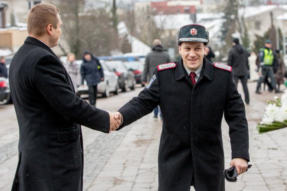 Vidmanto Balkūno / 15min nuotr./Policijos departamento vadovas Linas Pernavas