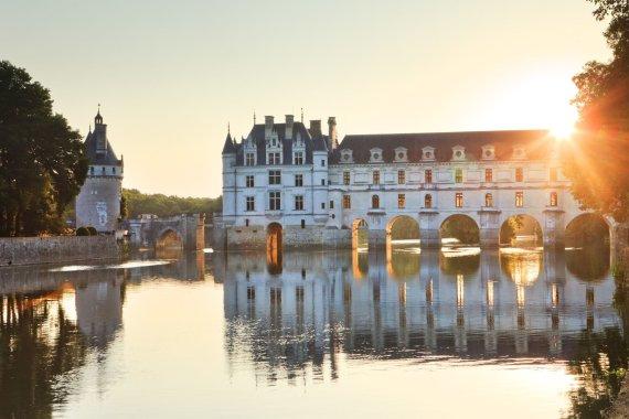 Vida Press nuotr./Šenonso pilis (Château de Chenonceau)