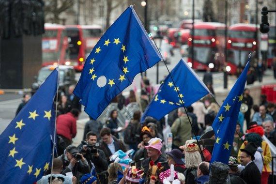 """AFP/""""Scanpix"""" nuotr./Europos Sąjunga žada vienybę"""