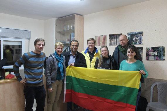 Jono Ohmano nuotr./Lietuvių specialistai baigė projektą su palestiniečių vaikais