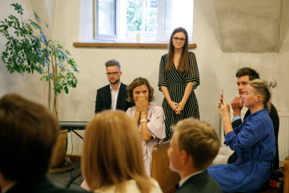 Eriko Ovčarenko / 15min nuotr./Mariaus Žaliūko ir Noros Sudarytės vestuvės