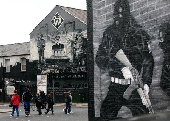 """AFP/""""Scanpix"""" nuotr./Belfastas"""