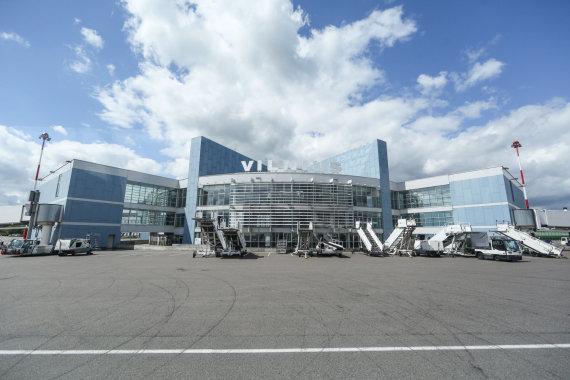Juliaus Kalinsko/15min.lt nuotr./Vilniaus oro uoste