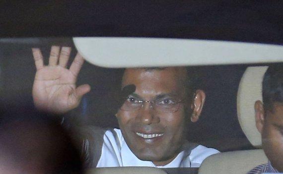 """Scanpix""/AP nuotr./Mohamedas Nasheedas"