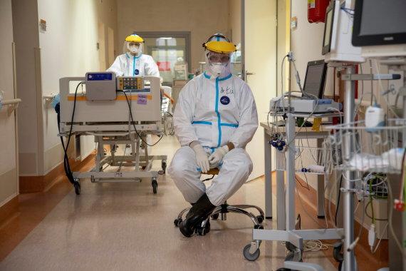 """""""Reuters""""/""""Scanpix"""" nuotr./Ligoninė Lenkijoje"""
