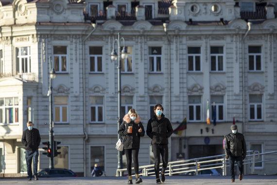 Luko Balandžio / 15min nuotr./Karantinas Vilniuje