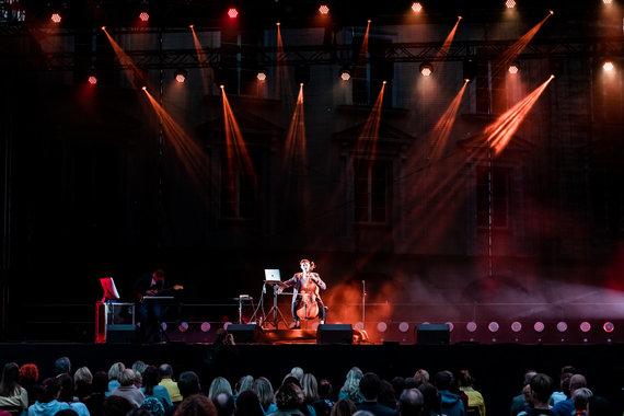 Asmeninio archyvo nuotr./Justas Kulikauskas-Future Cello