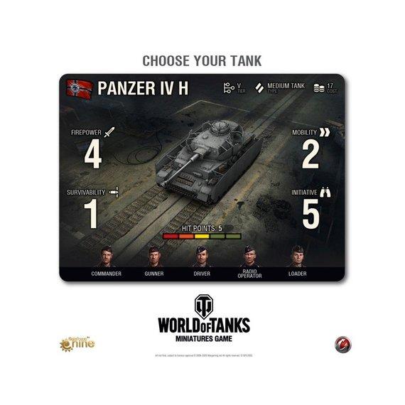 """""""The World of Tanks Miniatures"""" žaidimas"""