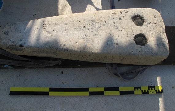 """""""Reuters""""/""""Scanpix"""" nuotr./Thônis-Heracleion mieste rasti laidojimo kompleksai ir karinis laivas"""