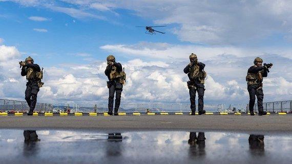 """Karališkasis laivynas/Dronas """"Ghost"""" gali suteikti sausumos kariams kitokį stebėjimo tašką"""