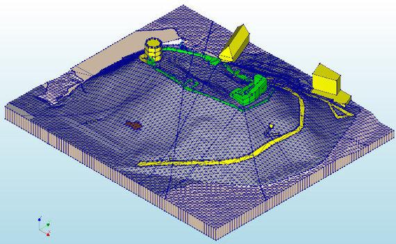 Šarūno Skuodžio nuotr./Gedimino kalno 3D modelis