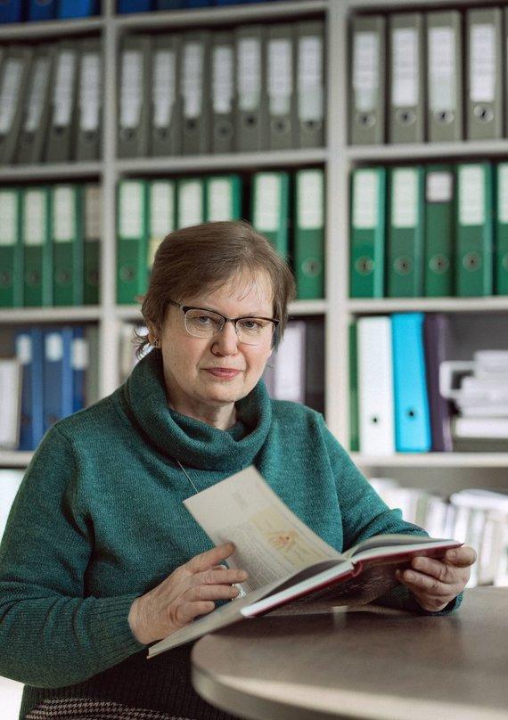 E. Kurausko nuotr./Prof. dr. Rūta dubakienė