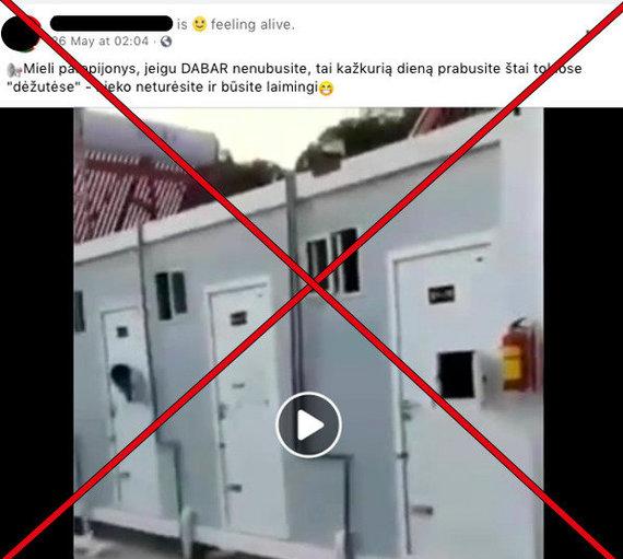 """""""Facebook"""" nuotr./Socialiniuose tinkluose platinama melagiena"""