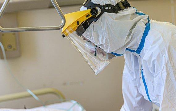 E.Čebatorienės nuotr./Darbas su COVID-19 pacientais