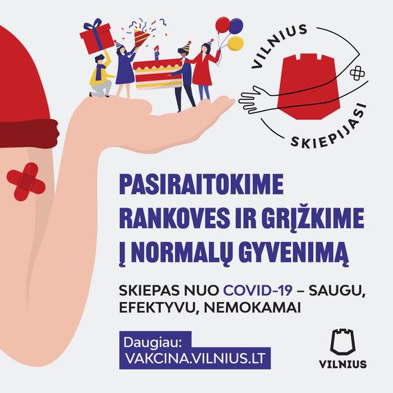 """Vilniaus miesto savivaldybės nuotr./Kampanija """"Pasiraitokime rankoves"""""""