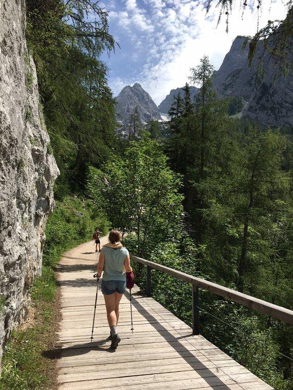 Linos Ever nuotr./Berchtesgadeno žemėje