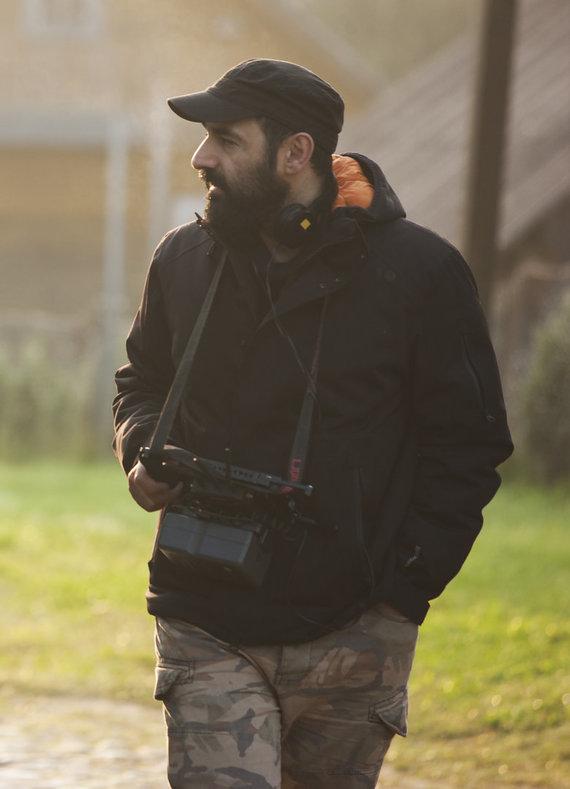 Asmeninio archyvo nuotr./Režisierius Marat Sargsyan