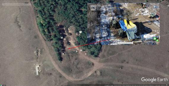 informnapalm.org nuotr./Vaizdas iš palydovo