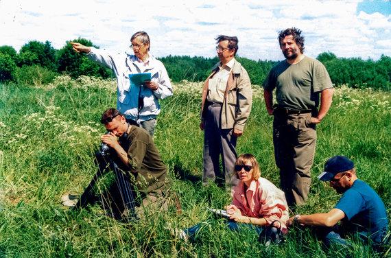 Bendra Lietuvos ir Latvijos istorikų ekspedicija pietryčių Latvijoje Juozo Streikaus-Stumbro būrio veikimo teritorijoje, 2002 m.