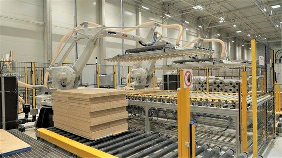 SBA nuotr./New SBA factory