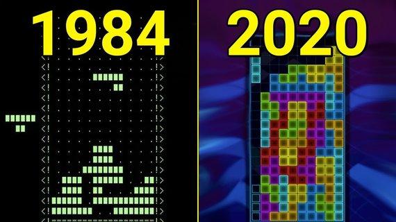 """Žaidimo """"Tetris"""" evoliucija"""
