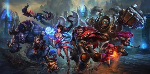 League of Legends čempionai
