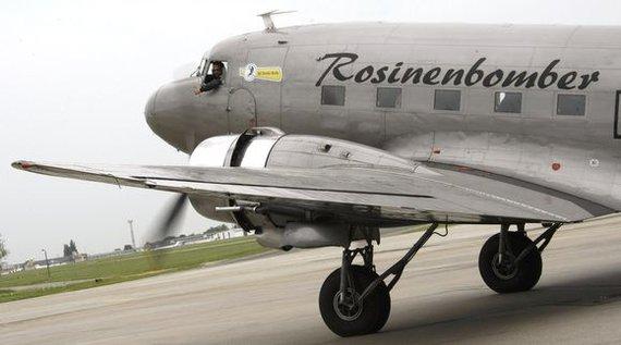"""Reuters""/""Scanpix"" nuotr./Senovinis lėktuvas DC-3"