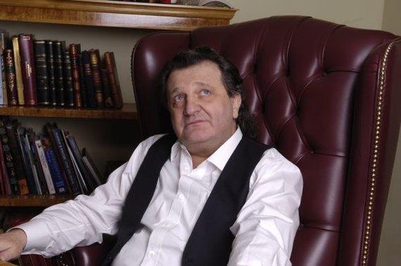 Žilvino Pekarsko / 15min nuotr./Šabtajus Kalmanovičius savo biure Maskvoje