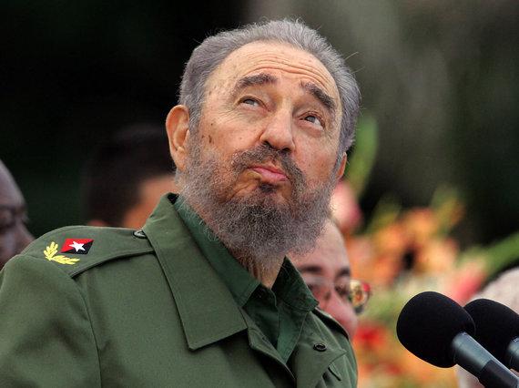 """AFP/""""Scanpix"""" nuotr./Fidelis Castro (2006 m.)"""