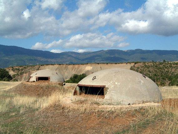 Wikipedia.org nuotr./Albanijos bunkeriai