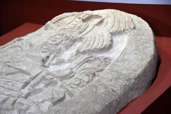 "AFP/""Scanpix"" nuotr./Majų altoriaus fragmentas"