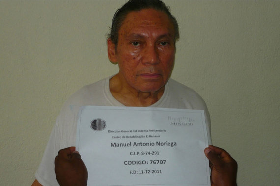 """Reuters""/""Scanpix"" nuotr./Manuelis Noriega kalinimo tėvynėje metu (2011 m.)"