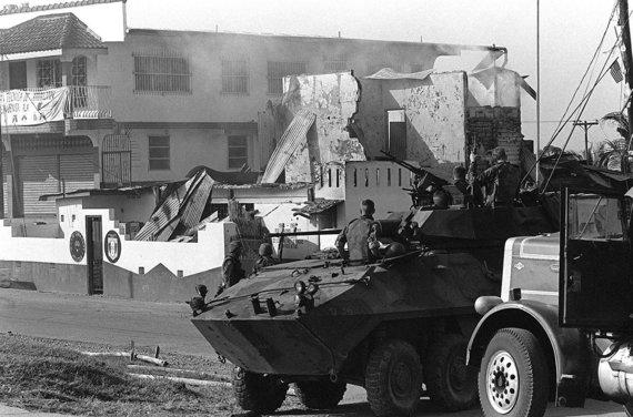 Wikipedia.org nuotr./JAV kariai Panamoje (1989 m. gruodis)