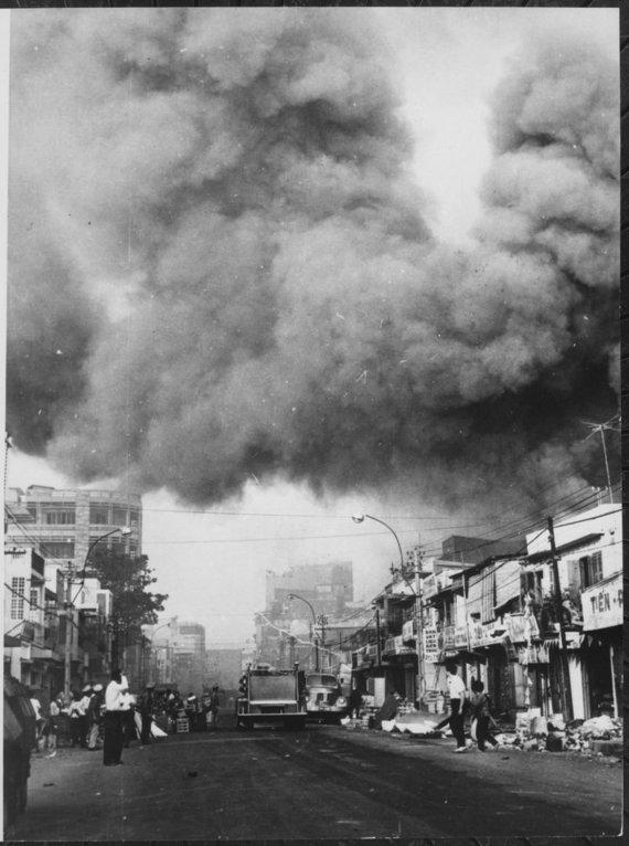Wikipedia.org nuotr./Saigonas Teto puolimo operacijos metu
