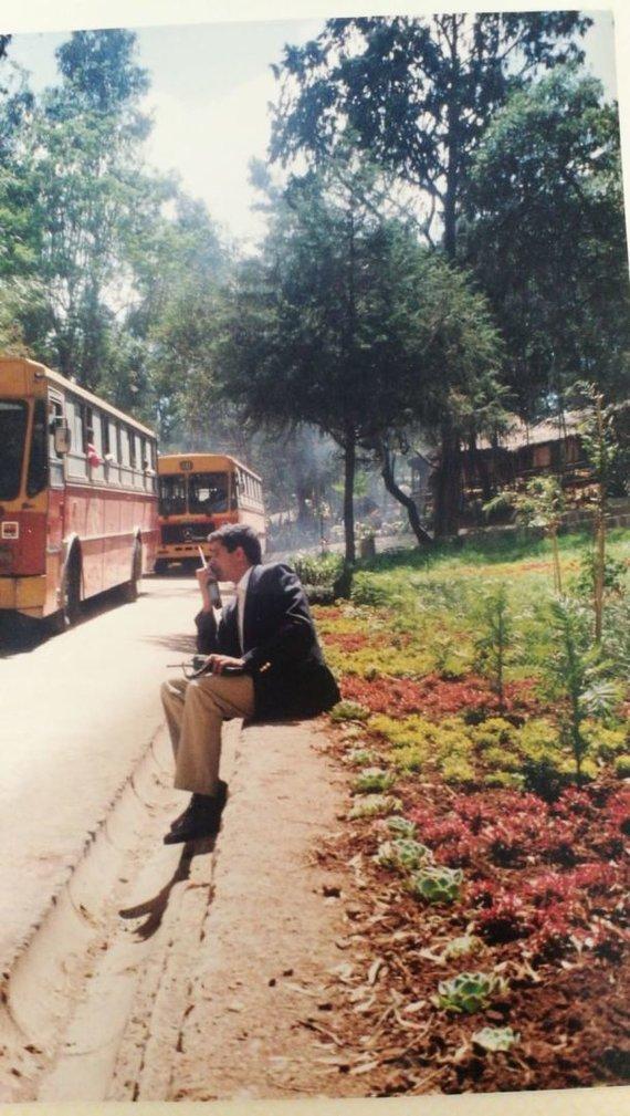 Asmeninio albumo nuotr./Amir Maimon Etiopijoje 1990 m.
