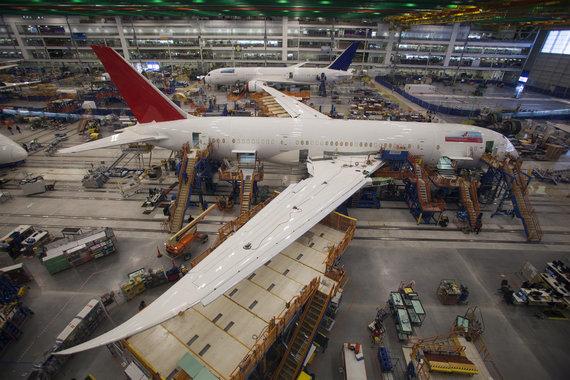"""Reuters""/""Scanpix"" nuotr./""Boeing 787 Dreamliner"" surinkimas"