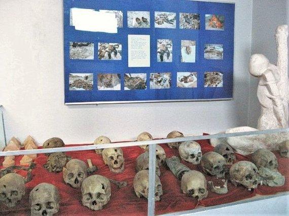 Wikipedia.org nuotr./Politinių represijų muziejaus ekspozicija Ulan Batore