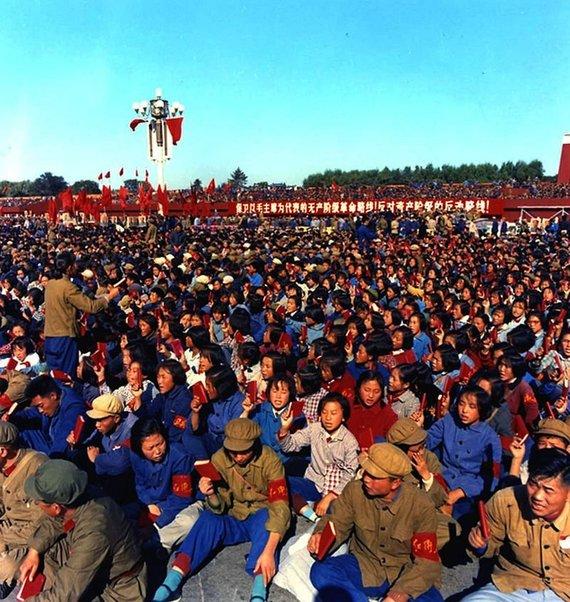 """Wikipedia.org nuotr./Fanatiškieji chunveibinai – """"Kultūrinės revoliucijos"""" varomoji jėga (1966 m.)"""