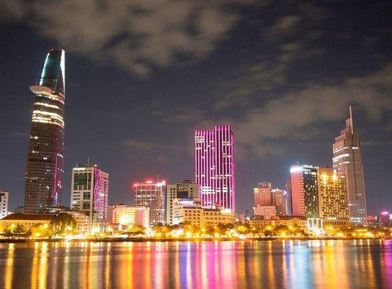Wikipedia.org nuotr./Šiuolaikinis Hošimino miestas (buvęs Saigonas)