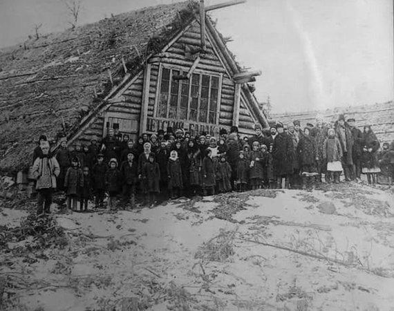 gulagmuseum.org nuotr./Vaikų barakas-žeminė