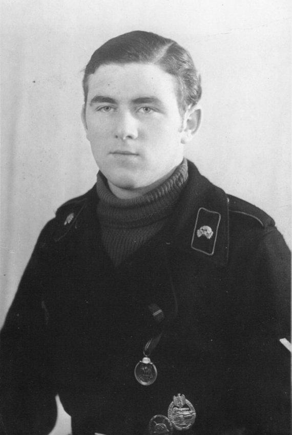 Bovingtono tankų muziejaus nuotr./Wilhelmas Fischeris Antrojo pasaulinio karo metais